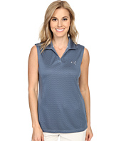 PUMA Golf - Polka Stripe Sleeveless Polo