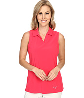 PUMA Golf - Woven Block Sleeveless Polo
