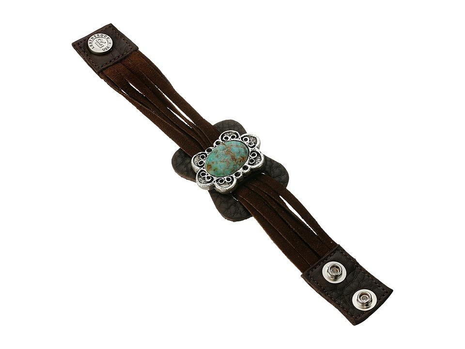Leatherock B726 Espresso Bracelet