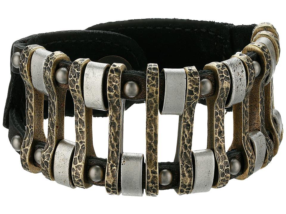 Leatherock B719 Bronze Bracelet