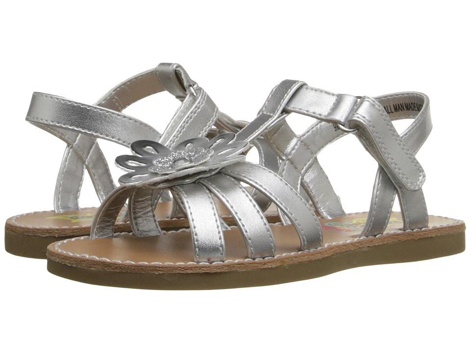 Rachel Kids Platinum Toddler/Little Kid Silver Metallic Girls Shoes
