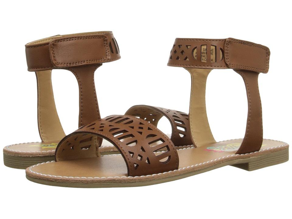 Rachel Kids Simone Youth Brown Smooth Girls Shoes