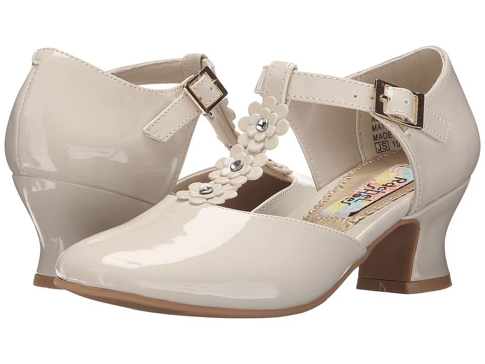 Rachel Kids Bianca 2 Little Kid/Big Kid Bone Patent Girls Shoes