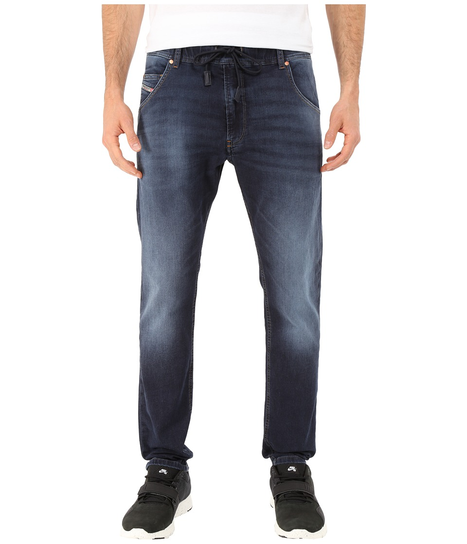 Diesel Krooley Ne Sweat Jeans 0848K Denim Mens Jeans