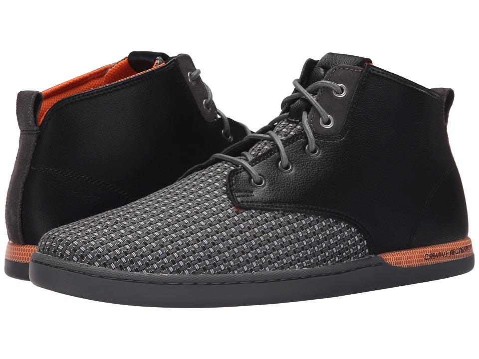 Creative Recreation Vito Black/Grey/Orange Woven Mens Lace up casual Shoes
