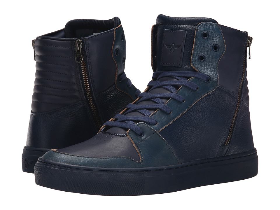 Creative Recreation Adonis Navy Leather Mens Shoes