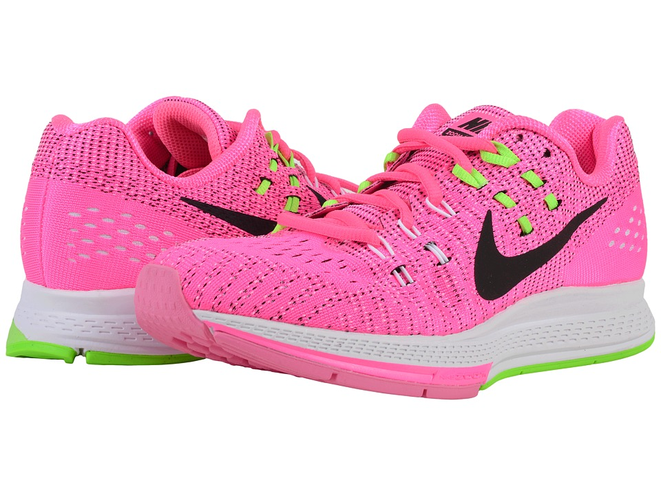 Nike Air Zoom Structure 19 Pink Blast/Black/Electric Green Womens Running Shoes