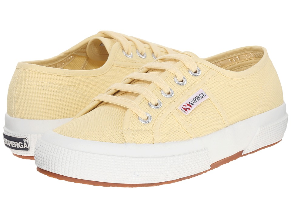 Superga - 2750 COTU Classic Sneaker (Pale Yellow) Lace up casual Shoes