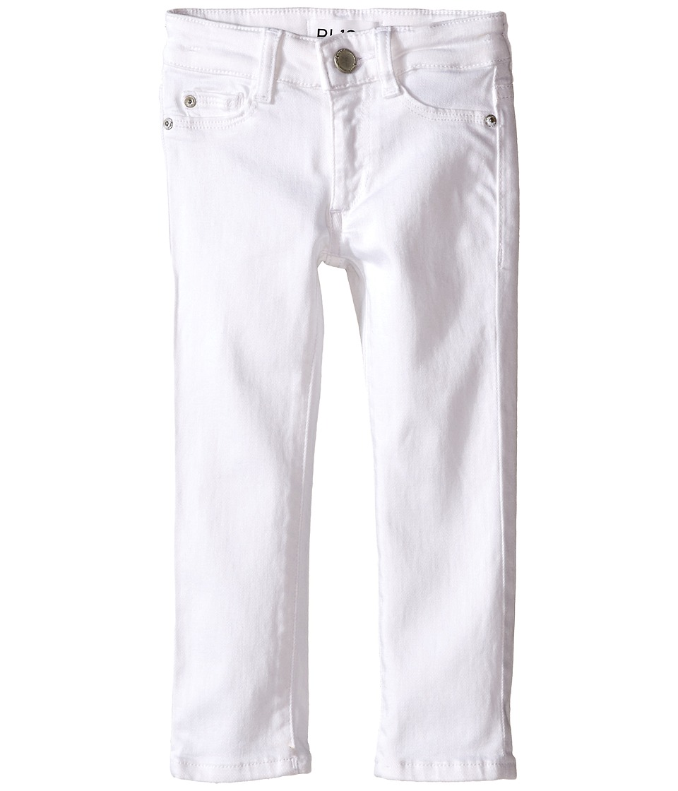 DL1961 Kids - Chloe Skinny Jeans in Snow (Toddler/Little Kids) (Snow) Girls Jeans