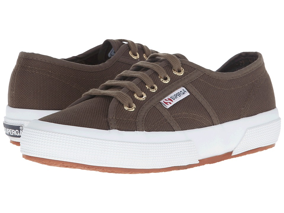 Superga - 2750 COTU Classic (Military/Gold) Lace up casual Shoes
