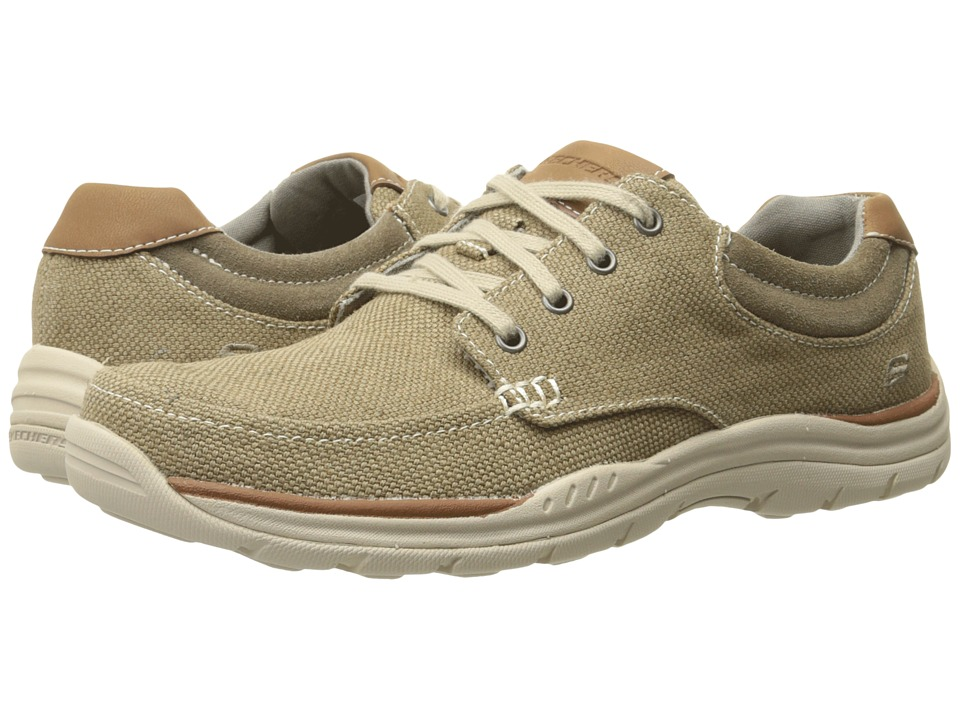 SKECHERS - Relaxed Fit Expected - Orman (Khaki Canvas) Men