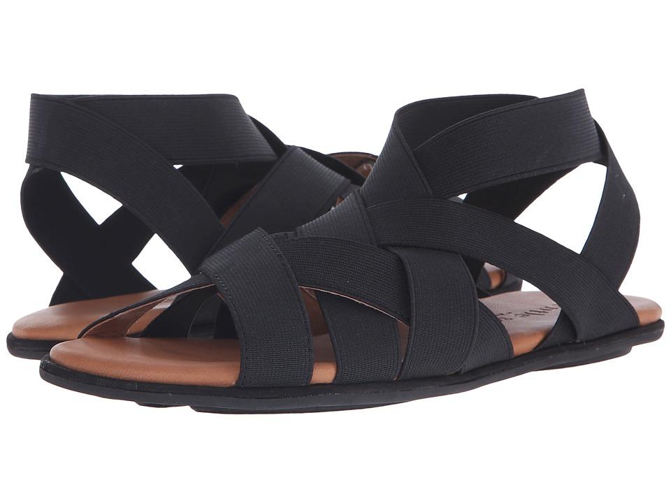 Gentle Souls Bari Black Womens Sandals