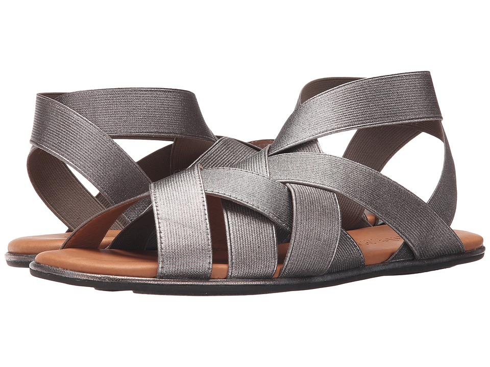 Gentle Souls Bari Graphite Womens Sandals