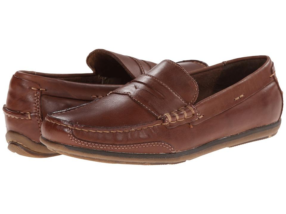 Dockers Dalton Tan Burnished Full Grain Mens Slip on Dress Shoes