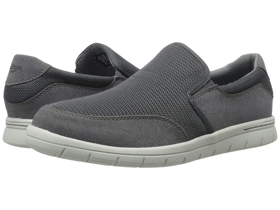 Dockers Antigua Charcoal Mesh/Distressed Mens Slip on Shoes