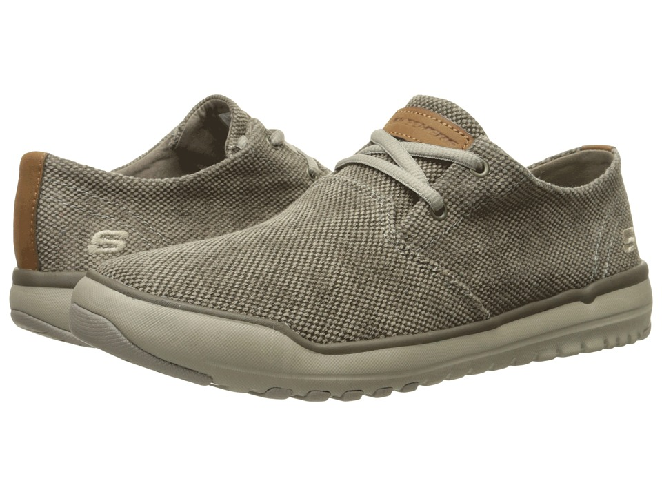SKECHERS - Relaxed Fit Oldis - Stound (Taupe Canvas) Men