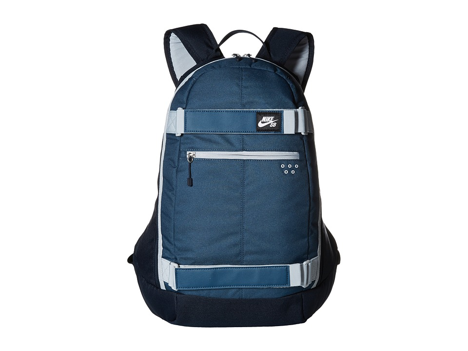 Nike SB - Embarca Medium Backpack (Squadron Blue/Dark Obsidian/Wolf Grey) Backpack Bags