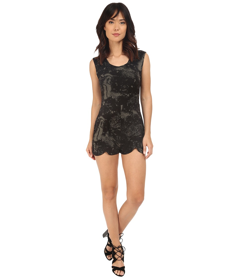 RVCA Later Dude Romper Dusty Olive Womens Jumpsuit Rompers One Piece