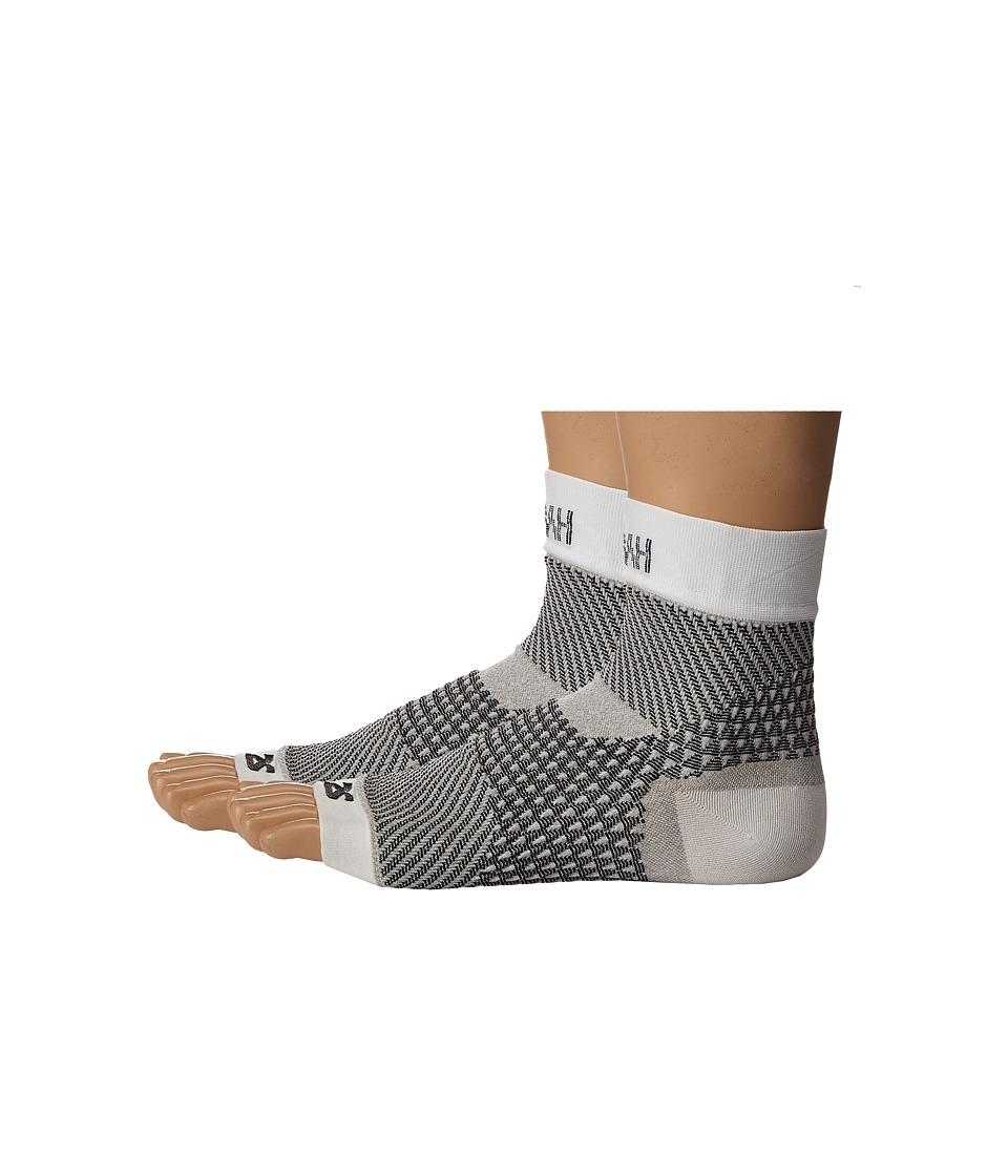 Zensah - Plantar Fasciitis Sleeves (Pair) (White) Running Sports Equipment