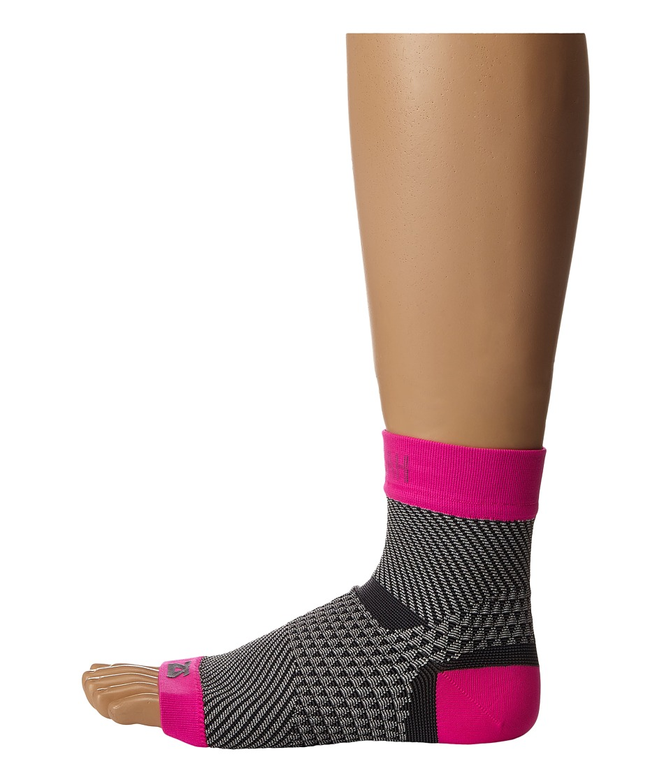 Zensah Plantar Fasciitis Sleeve Single Neon Pink Running Sports Equipment