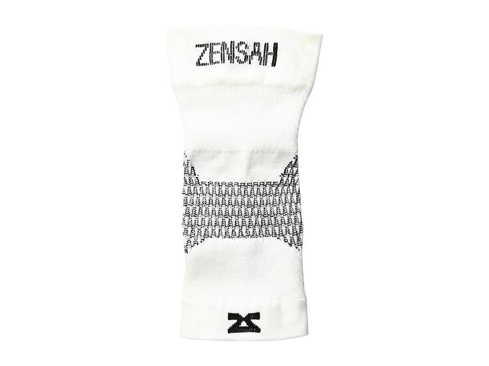 Zensah - Plantar Fasciitis Sleeve (Single) (White) Running Sports Equipment