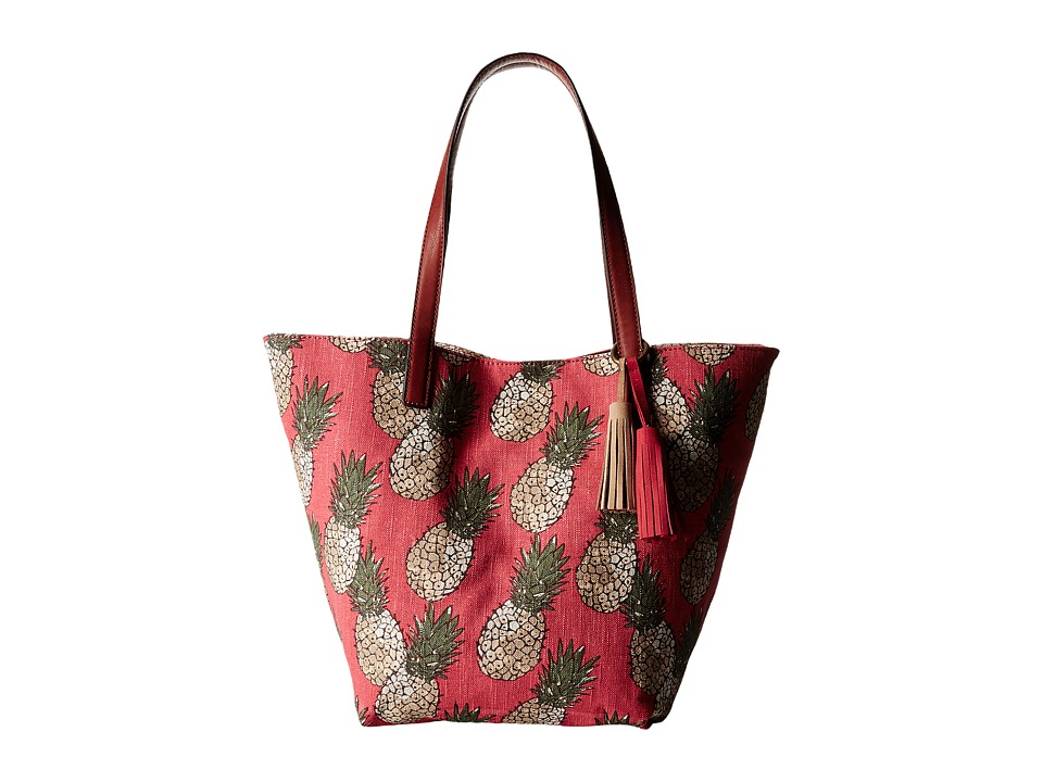 Lucky Brand - Key West Tote (Pineapple) Tote Handbags
