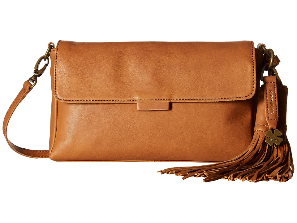 Lucky Brand - Jordan Clutch (Tobacco) Clutch Handbags