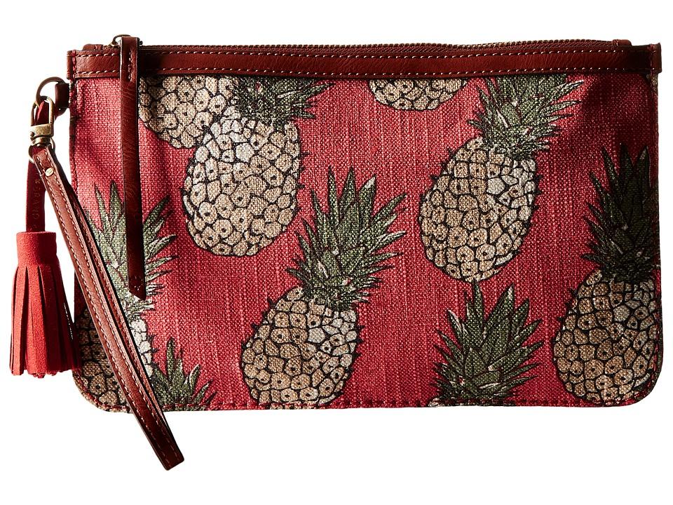 Lucky Brand - Key West Convertible Wristlet (Pineapple) Wristlet Handbags