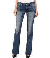 True Religion - Joey Low Rise Flare Flap Jeans in Authentic Indigo