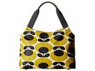 Orla Kiely Classic Zip Shoulder Bag (Mustard)