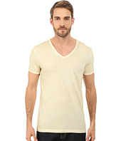 BOSS Orange - Toulouse Garment Dyed Jersey Fashion Fit Short Sleeve V-Neck Tee