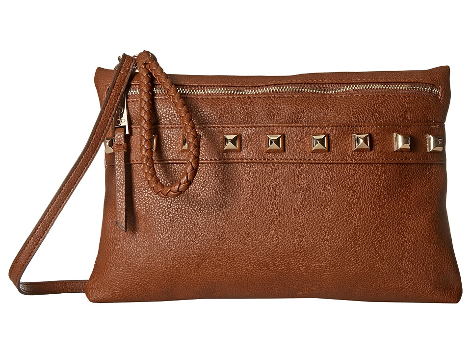 Jessica Simpson - Valentina Clutch Crossbody (Luggage) Cross Body Handbags