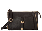 Jessica Simpson Sienna Top Zip Crossbody (Black)