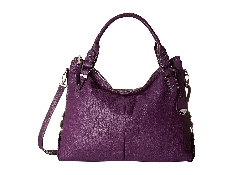 Jessica Simpson - Mara Crossbody Tote (Eggplant) Satchel Handbags