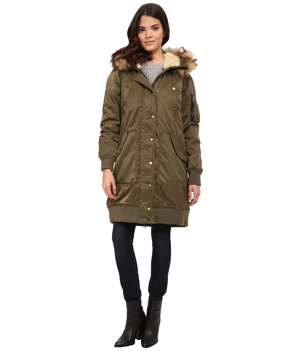 Diesel W Pury Jacket Olive/Green Womens Coat