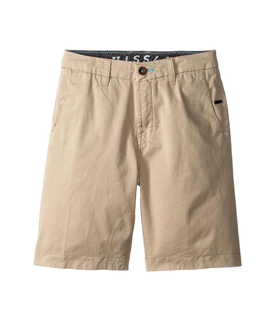 VISSLA Kids No See Ums Big Kids Chino Boys Shorts