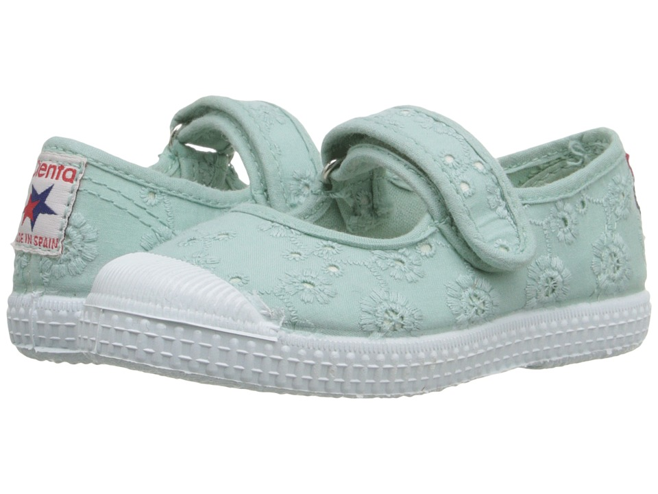 Cienta 76998 (Toddler/Little Kid/Big Kid) (Mint) Girl's Shoes