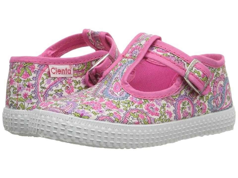 Cienta Kids Shoes 51030 Infant/Toddler/Little Kid/Big Kid Fuchsia Girls Shoes