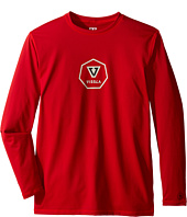 VISSLA Kids - Everyday Long Sleeve Surf Tee UPF 50 (Big Kids)