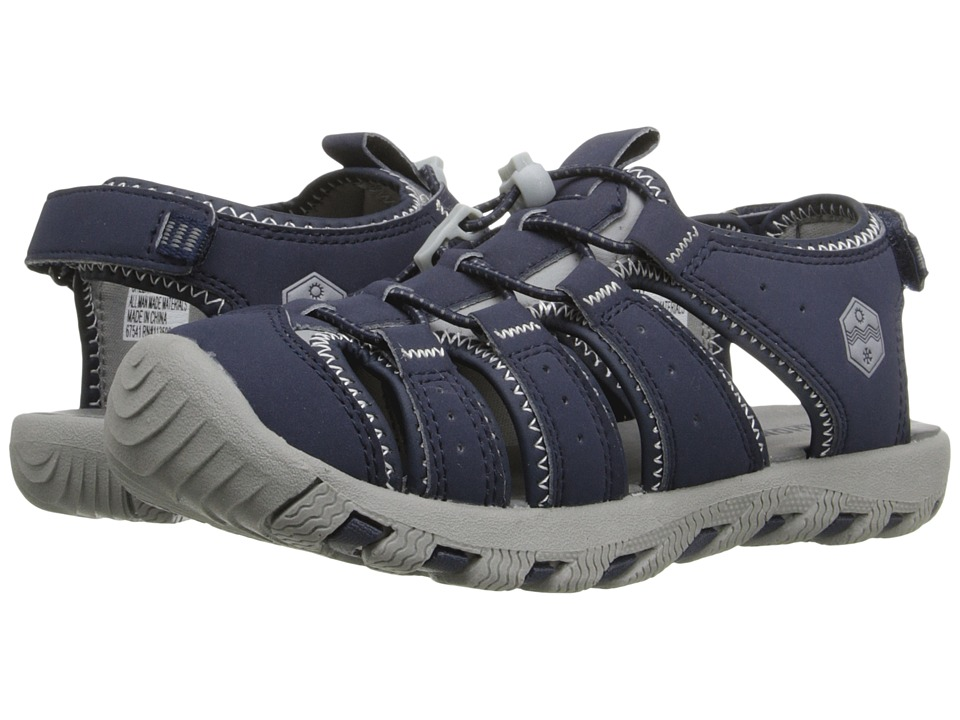 Khombu Kids Cheeky Little Kid/Big Kid Navy Boys Shoes