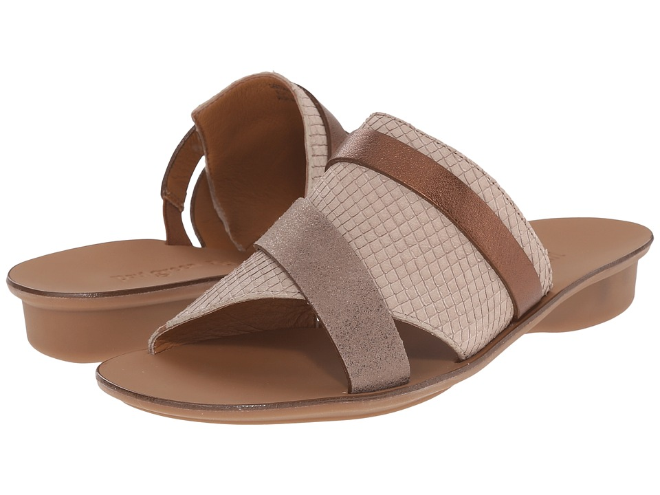 Paul Green Bayside Taupe Earth Snake Womens Sandals