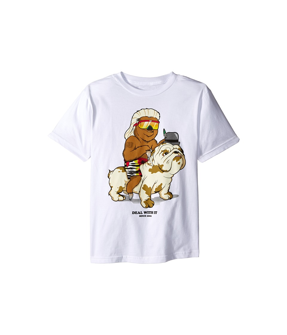 Neff Kids Deal with It Tee Big Kids White Boys T Shirt