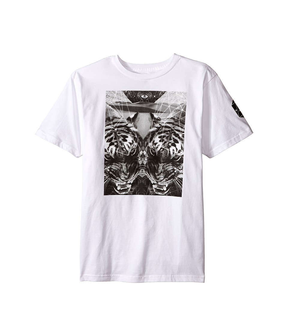 Neff Kids Battlekat Tee Big Kids White Boys T Shirt