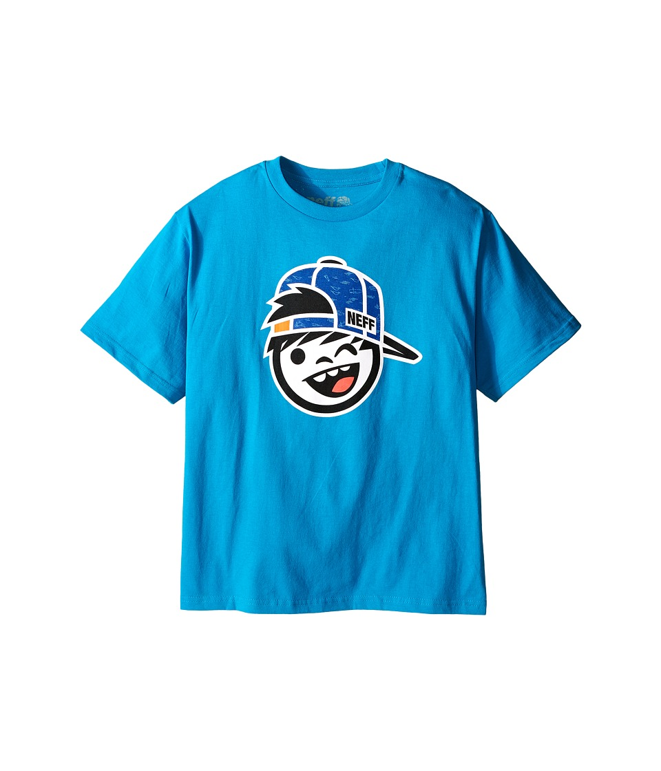 Neff Kids Kenni Fill Tee Big Kids Turquoise Boys T Shirt