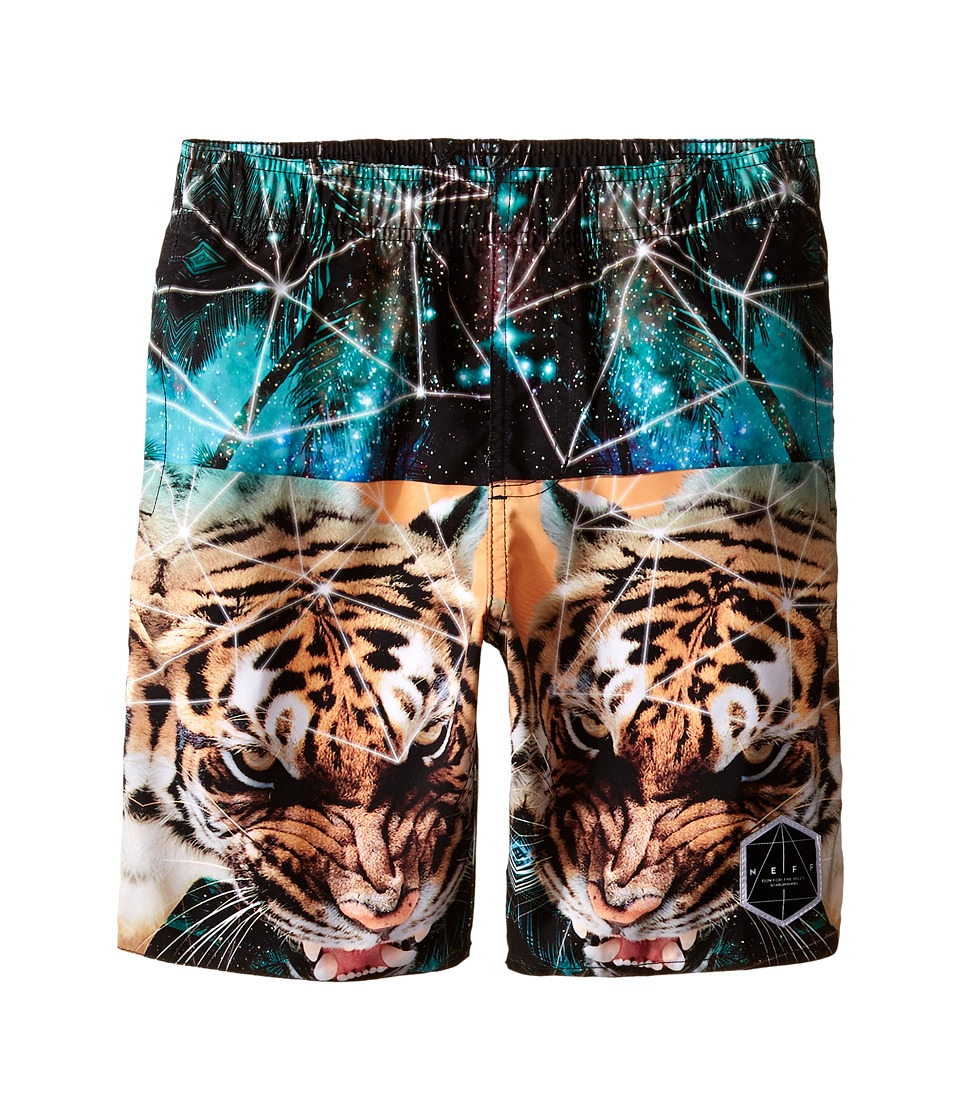Neff Kids Battlekat Hot Tub Shorts Big Kids Multi Boys Swimwear