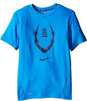 Nike Kids - Football Gear Up Short Sleeve Fitted Top (Little Kids/Big Kids)