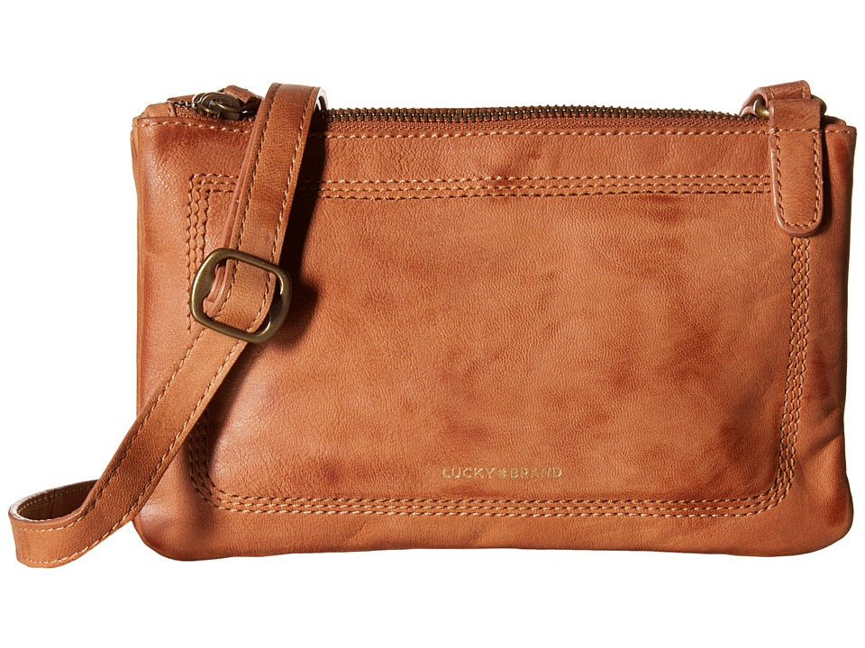 Lucky Brand - Callie Crossbody (Tobacco) Cross Body Handbags