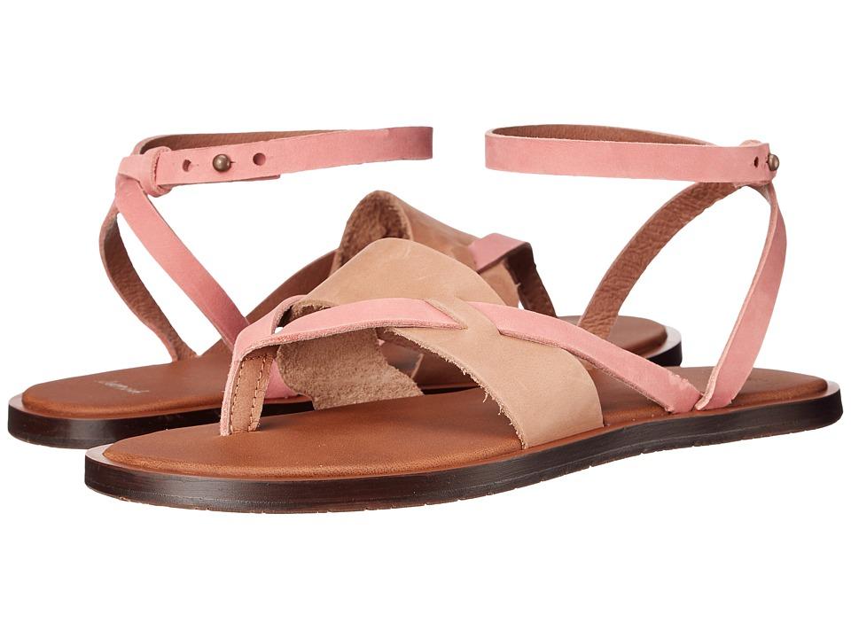 Sanuk Yoga Serena Tobacco/Rose Womens Sandals