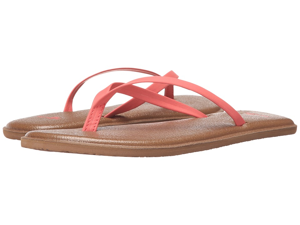 Sanuk Yoga Bliss (Spiced Coral) Women