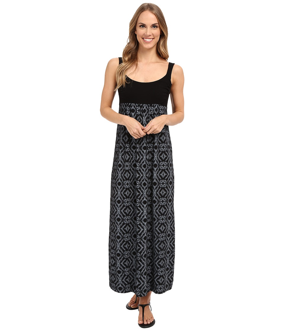 Fresh Produce Shibori Malibu Maxi Dress Black Womens Dress